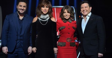 MBC5- the Voice SENIOR S1- COACHES HANI SHAKER, SAMIRA SAID, NAJWA KARAM & MELHEM ZEIN (2) - Copy