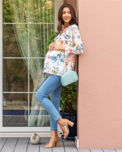 Max Maternity - Floral Blouse